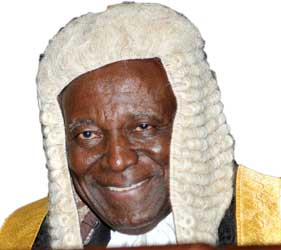 Former Chief Justice of Nigeria (CJN), Justice Legbo Kutigi,