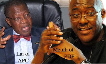 Mohammed: Promised not to dignify PDP's allegations and Metuh: APC is championing anarchy