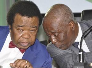 Professor Bolaji Akinyemi and Justice Idris Kutigi