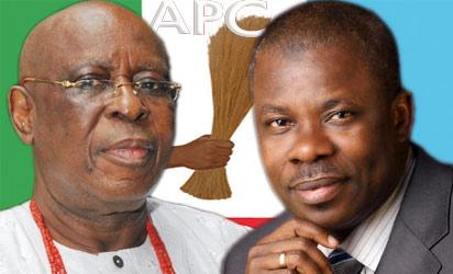 Chief Segun Osoba and Ogun State governor, Ibikunle Amosun