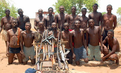 Kidnapping children for battle, from Uganda to Nigeria