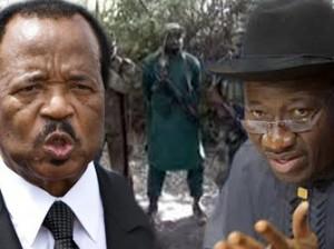 President Goodluck Jonathan and President Paul Biya, Cameroon