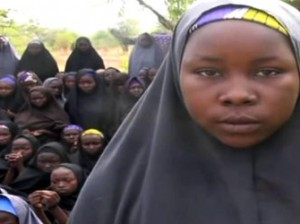 A screengrab taken on May 12, 2014, from a video of Nigerian Islamist