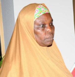 Mrs Asaba Kwabura Principal of Girls Secondary School Chibok