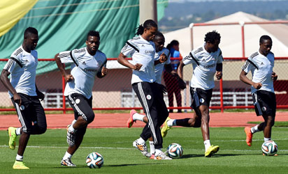eagles-traning