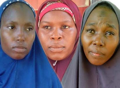 Female Boko Haram suspects
