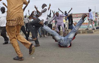 APC members celebrate in Osogbo