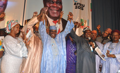 Atiku's declaration for 2015