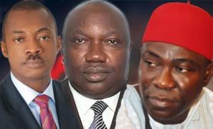 Chime, Ugwuanyi and Ekeremadu