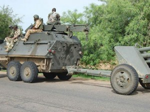 Gallant Nigerian soldiers
