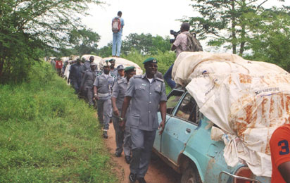 Customs impounds 30 exotic vehicles, rice, others worth N1.bn in 4wks
