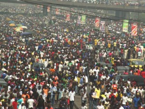 Statistics by experts show that by2040, Nigeria's population growth would have quadruplewithout commensurate amenities and employment to sustain it