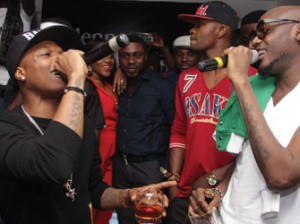 2Face, Wizkid in first collabo as Hennessy Artistry goes to Ghana