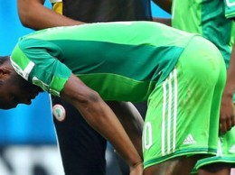 IT IS FINISHED: Mikel Obi's mood says it all about Nigerian football.