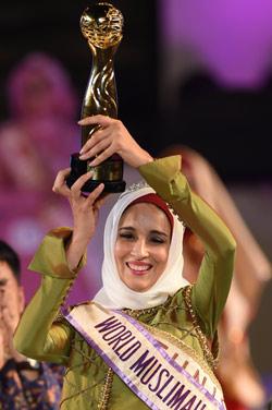 Winner of the 2014 World Muslimah Awards Fatma Ben Guefrache of Tunis