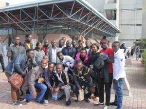 Nelson Mandela Students in South Africa