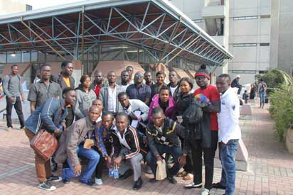 File:  Ex-militants  under the amnesty programme in South Africa