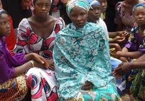 •Escaped women in Damboa area of Borno State