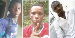 suspect ...Defemi Oladega, Odukoya Deji, Oladeji Hoteyin