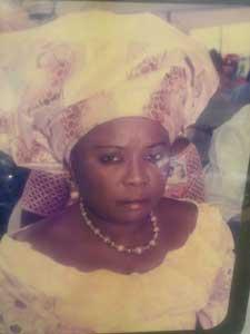 Mrs. Ruby Benjamin, deceased