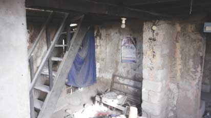 •Inside the very first storey building in Itigidi
