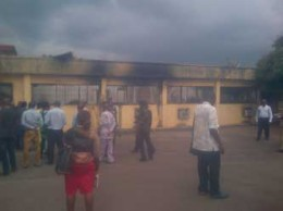 Ebonyi State House of Assembly complex gutted by fire