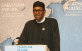 Gen Buhari at Chatham House