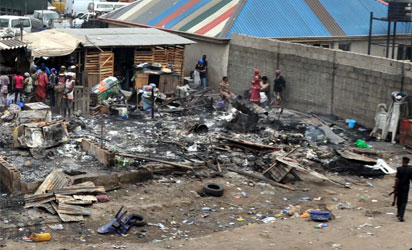 3 killed, vehicles burnt as NURTW, hoodlums clash in Oshodi