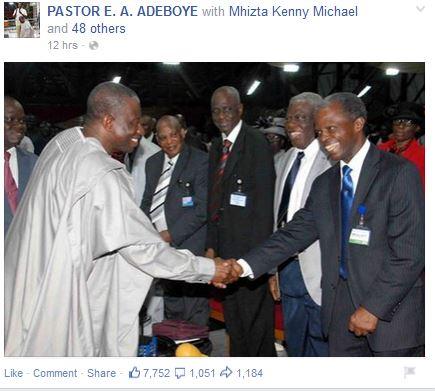 Pastor Adeboye ppp