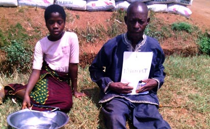 The suspected ritualist and the girl