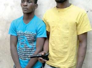 •The suspects, Akpan and Ugochukwu