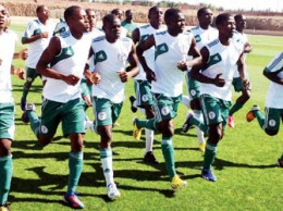 •Flying Eagles... Ready to fly in Senagal