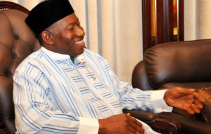 PRESIDENT GOODLUCK JONATHAN LOOKING  CALM AND UNRUFFLED AFTER CONCEDING DEFEAT TO HIS OPPONENT AT THE 2015 PRESIDENTIAL ELECTION
