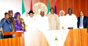 NEW MINISTERS SWORN IN, IN ABUJA