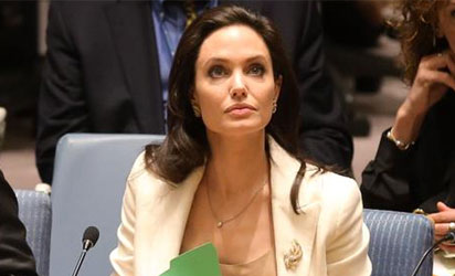 Angelina Jolie , Special envoy of the UN High Commissioner for Refugees