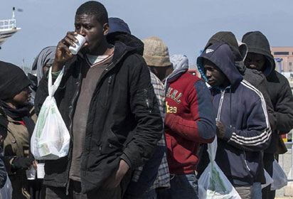 Death of African migrant sparks brawls in south-eastern Spain