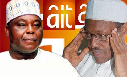 Chief Raymond Dokpesi and President-elect Buhari