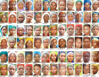 Some of the abducted Chibok girls