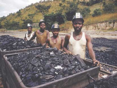 File: Coal miners in Enugu