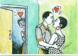 When a man cheats on his wife!