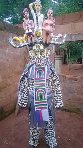 Mgbedike masquerade