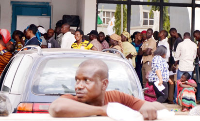 Customers besiege banks as BVN registration deadlines expires