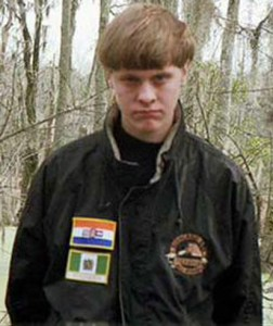 Dylann Roof- 21 year old Charleston church shooter who killed 8 worshippers and the pastor