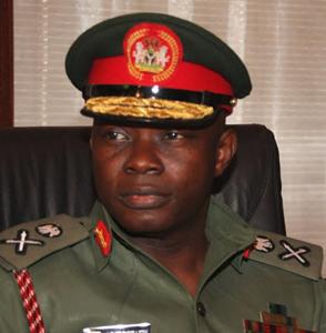 Chief of Defence Staff (CDS) General Gabriel Olonisakin