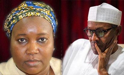 INEC interim boss, Zakari and Buhari: President of Nigeria