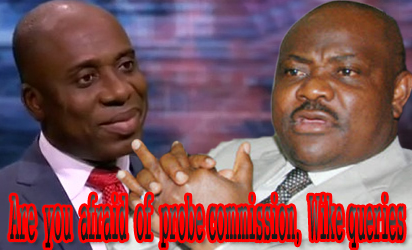 Amaeachi and Wike