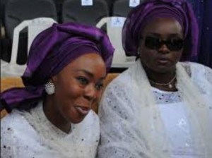 Toyin Saraki and Ahmed