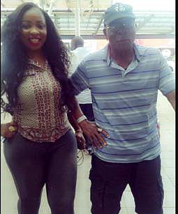 Anita and dad