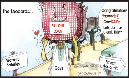 Pensioners beg EFCC to probe Governors over bailout funds