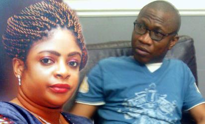 Mrs Toyin Nwosu and Steve Nwosu